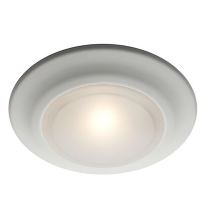 Rosanne 1-Light Flush Mount Finish: Brushed Nickel