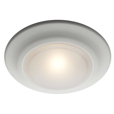 Rosanne 1-Light Flush Mount Finish: Rubbed Oil Bronze