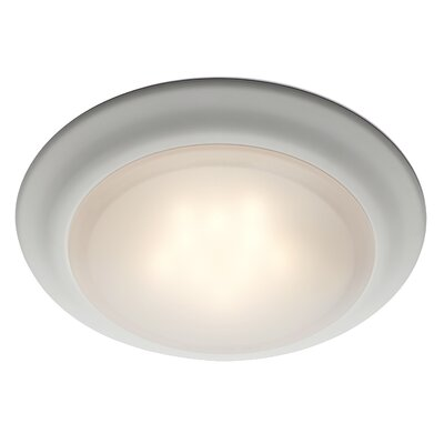Rosanne 1-Light Flush Mount Finish: White