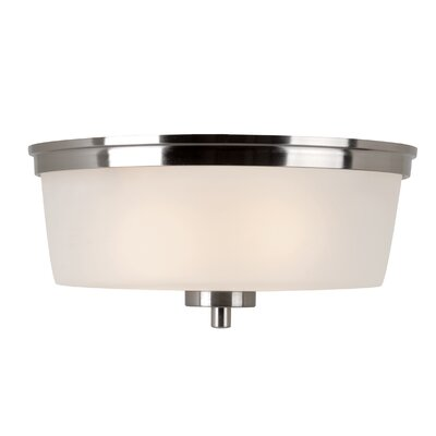 Youngs 1-Light Flush Mount