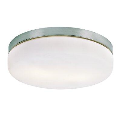 Jayne 2-Light Flush Mount Size: 4 H x 11 W x 11 D