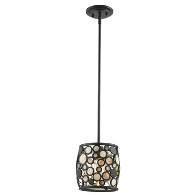 Ellari 1-Light Mini Pendant Finish: Rubbed Oil Bronze