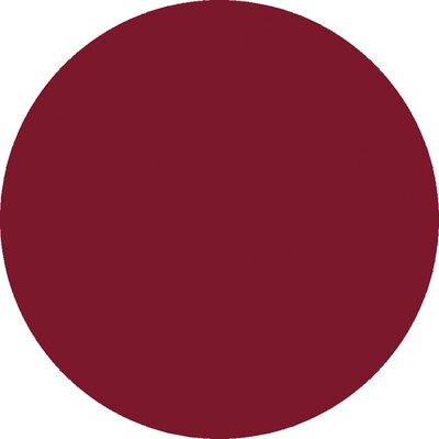 Janell Magenta Area Rug Rug Size: Round 8