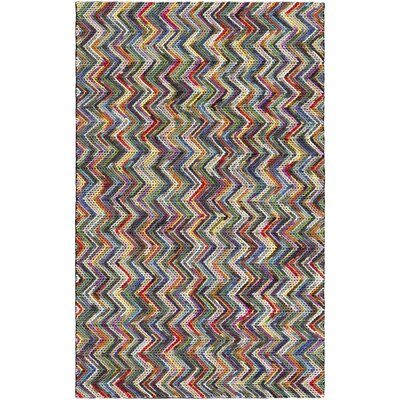 Ines Hand-Woven Area Rug Rug size: Rectangle 5 x 76