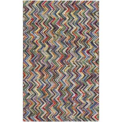 Ines Hand-Woven Area Rug Rug size: 8 x 10