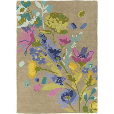 Josh Hand-Tufted Area Rug Rug size: 33 x 53