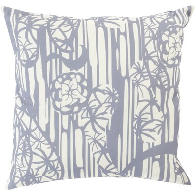 Janna Throw Pillow Size: 20 H x 20 W x 4 D, Color: GrayNeutral