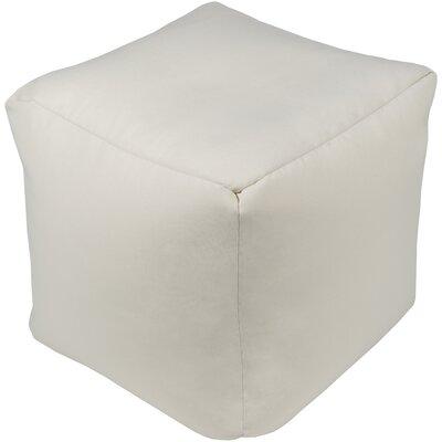 Elisa Pouf Ottoman Upholstery: Gray