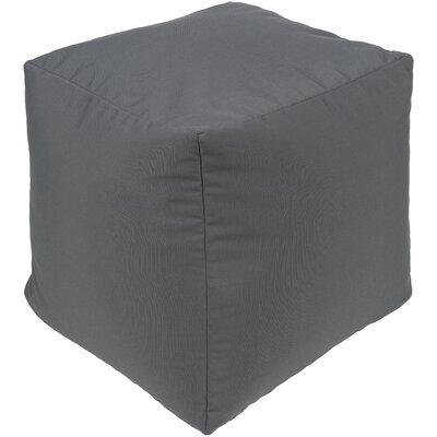 Elisa Pouf Ottoman Upholstery: Charcoal
