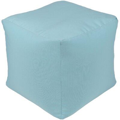 Elisa Pouf Ottoman Upholstery: Blue