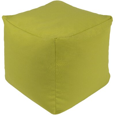 Elisa Pouf Ottoman Upholstery: Lime