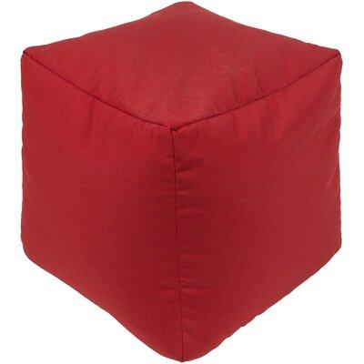 Elisa Pouf Ottoman Upholstery: Red