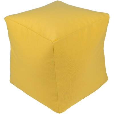 Elisa Pouf Ottoman Upholstery: Sunflower