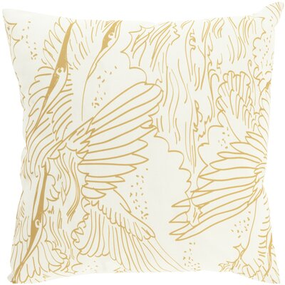 Janna Indoor/Outdoor Throw Pillow Size: 20 H x 20 W x 4 D, Color: Brown