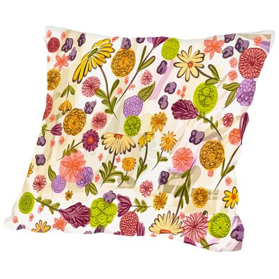 Jeffrey Sept Garden Outdoor Throw Pillow Size: 20 H x 20 W x 2 D