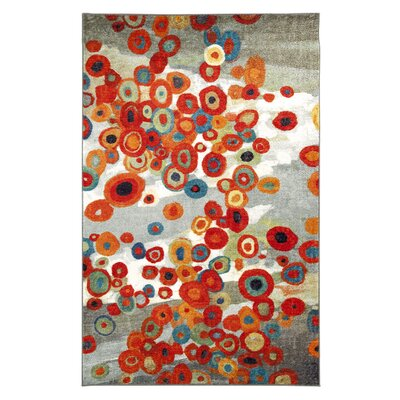 Hillhouse Tossed Floral Multi Printed Area Rug Rug Size: Rectangle 8 x 11