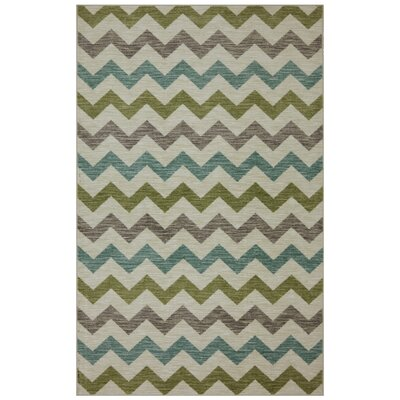 Harold Gray/Blue Area Rug
