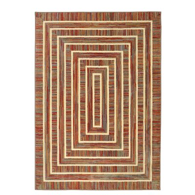 Jody Hand-Woven Red Area Rug