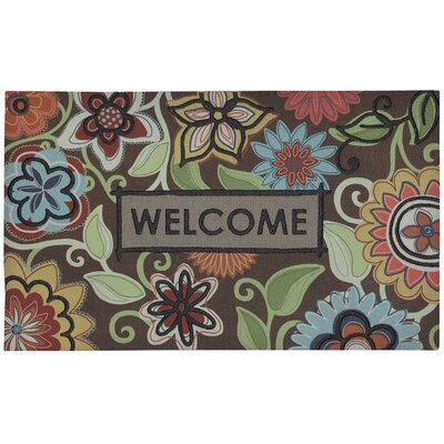 Janine Flowers of Youth Doormat