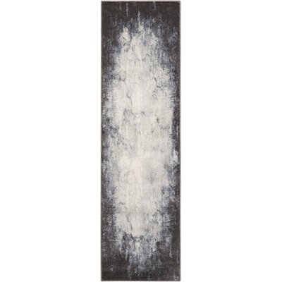 Anegada Ivory/Gray Area Rug Rug Size: Runner 22 x 76