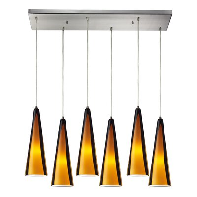 Josefina 6-Light Kitchen Island Pendant