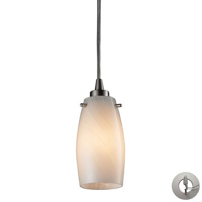 Wobner 1-Light Mini Pendant