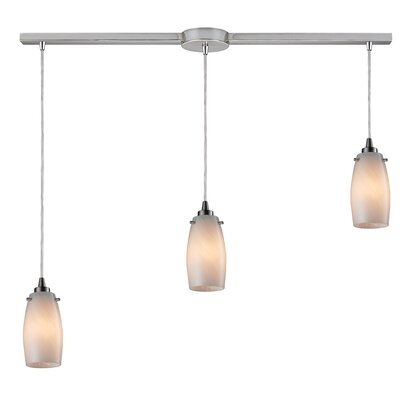 Wobner 3-Light Kitchen Island Pendant