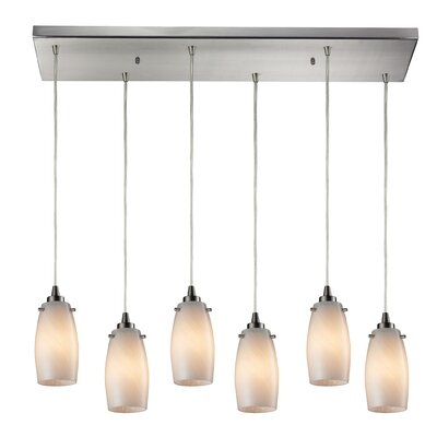 Wobner 6-Light Kitchen Island Pendant