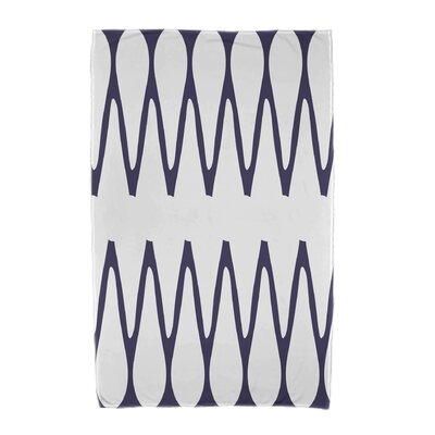 Zipped Beach Towel Color: Navy Blue