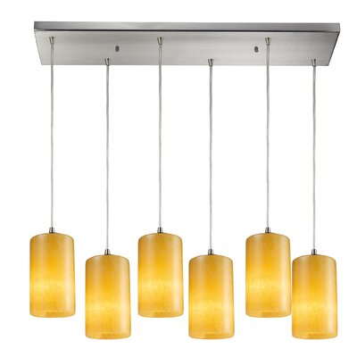 Wira 6-Light Kitchen Island Pendant