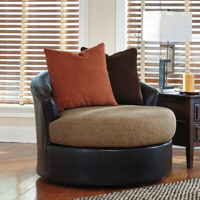 Laverton Barrel Chair Color: Ebony