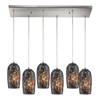 Joshua 6-Light Kitchen Island Pendant
