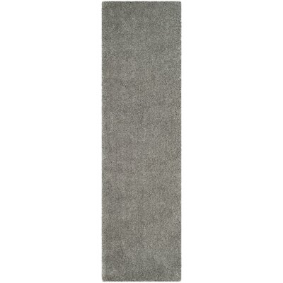 Winnett Hand-Tufted Light Gray Area Rug Rug Size: Round 5 x 5