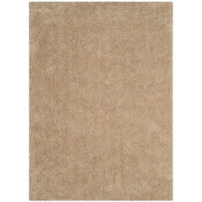 Winnett Hand-Tufted Beige Area Rug Rug Size: Square 5 x 5
