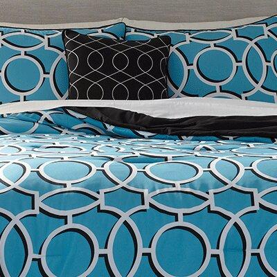 Joshua 5 Piece Comforter Set Size: King