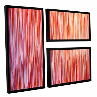 Date Night 3 Piece Framed Painting Print on Canvas Set