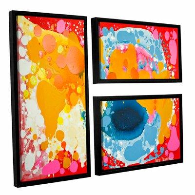 Brave 3 Piece Framed Painting Print on Canvas Set