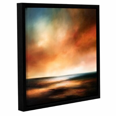 The Dawn Comes Framed Painting Print on Canvas Size: 10