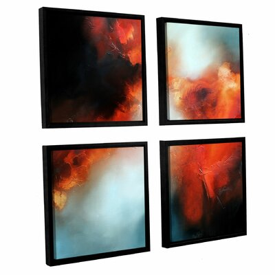 Prophecy 4 Piece Framed Painting Print Set Size: 36