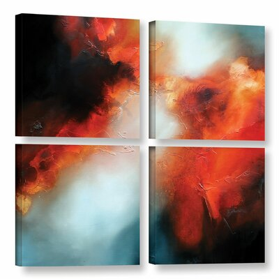 Prophecy 4 Piece Painting Print on Wrapped Canvas Set