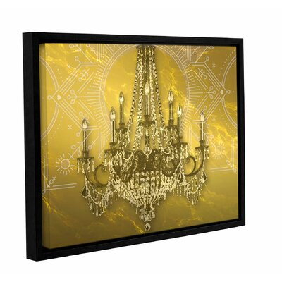 "Gold Class Framed Graphic Art on Wrapped Canvas Size: 36"" H x 48"" W LATR5282 33263718"