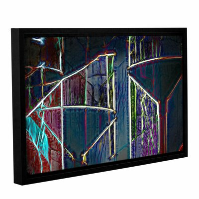 Martini Shadowplay Framed Graphic Art on Wrapped Canvas