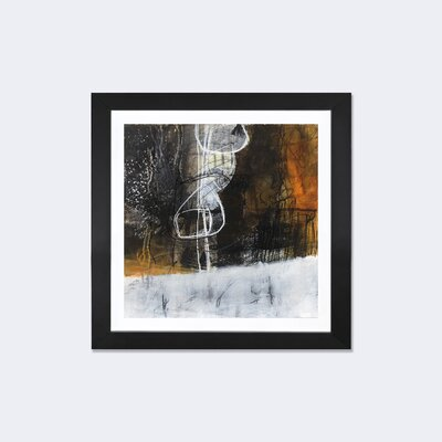 Abstract Pebble V by Jane Davies Framed Painting Print