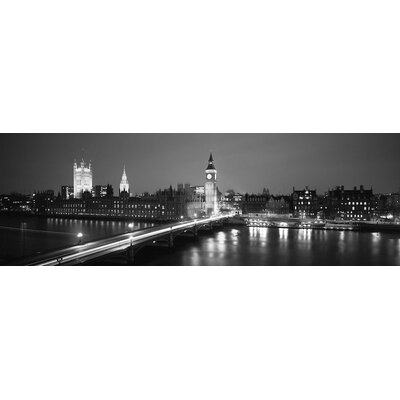England, London, Parliament Wall Art on Wrapped Canvas