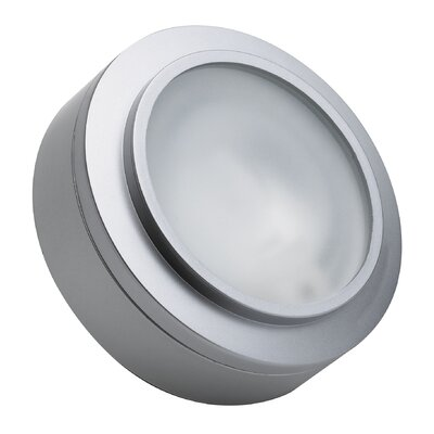 Eleada 3-Light Flush Mount Finish: Stainless Steel