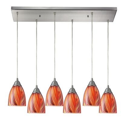 Ammara 6-Light Kitchen Island Pendant