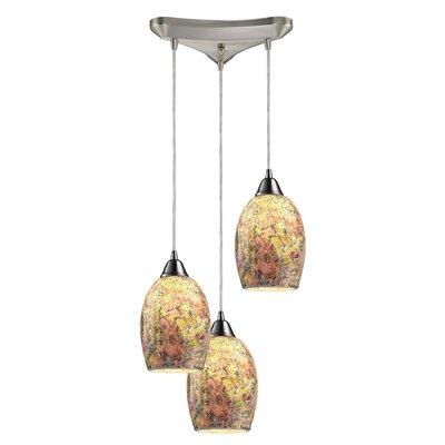 Bellevue 3-Light Pendant