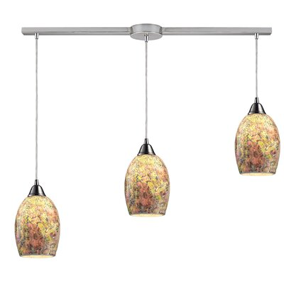 Bellevue 3-Light Kitchen Island Pendant