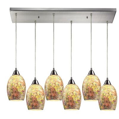 Wininger 6-Light Kitchen Island Pendant
