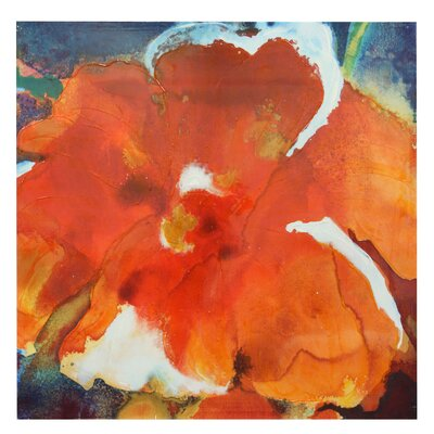 Burst of Floral Painting Print on Canvas
